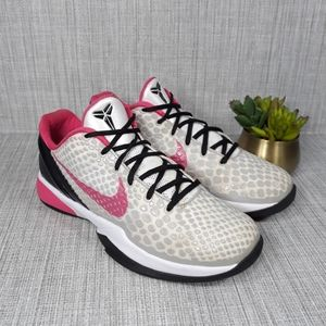 Nike Zoom Kobe 6 VI White Spark  Sz 8